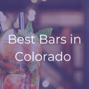 Best Colorado Bars to Visit 2019