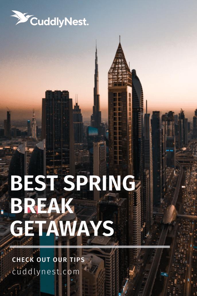 spring break destinations