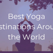 Yoga Destinations India Ashramas 2019