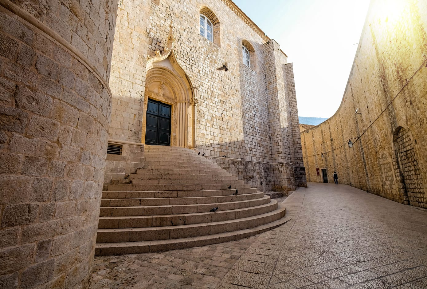 St. Dominic Street in Dubrovnik.