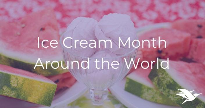 ice cream month cuddlynest vacation rentals food travel july 2019 cuddlynest one voyage away pinterest ideas