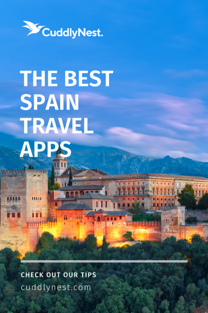 spain travel apps pin