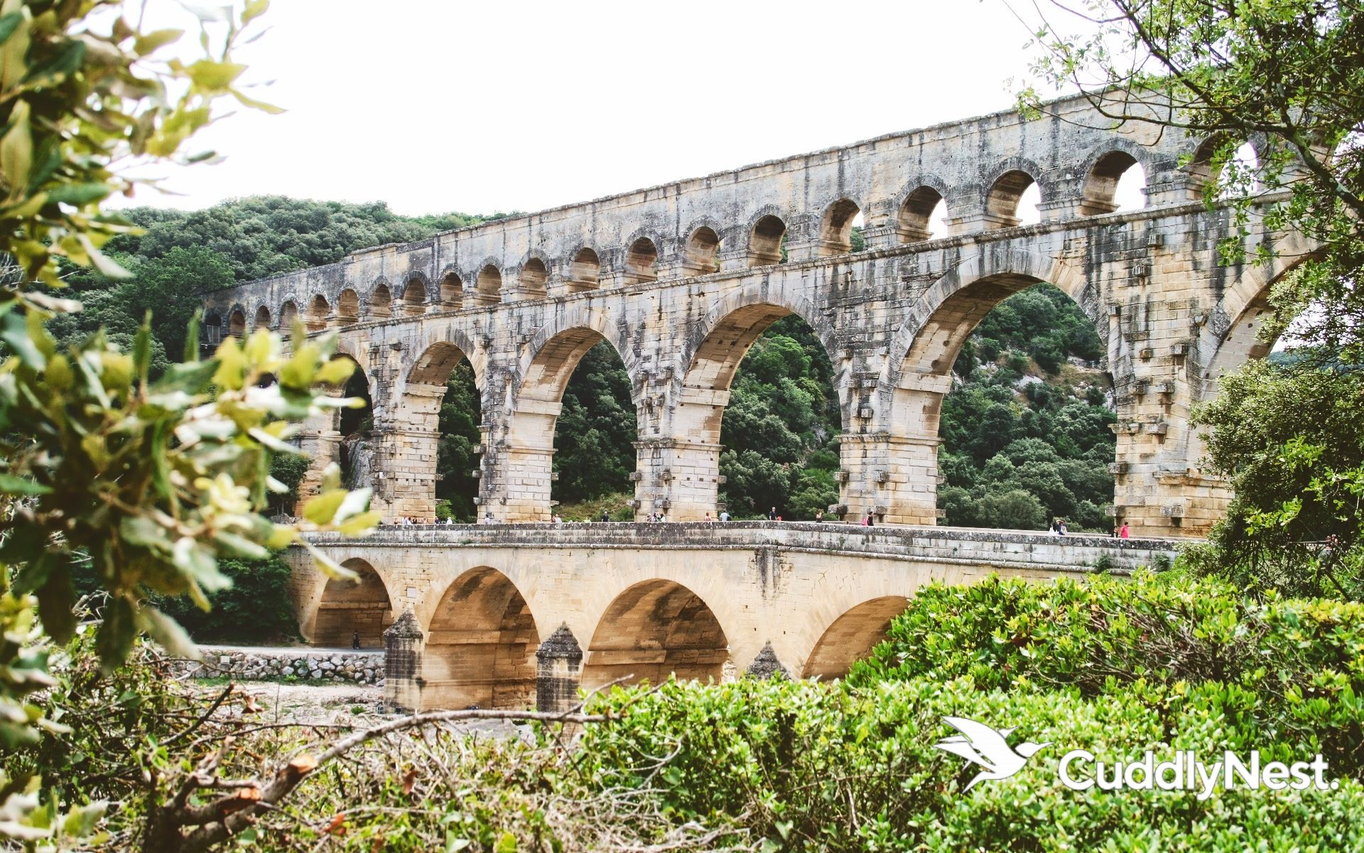 Pont du Gard France Travel Guide What to See TTour de France Cuddlynest Travel Tips Guides French Alps July 2019