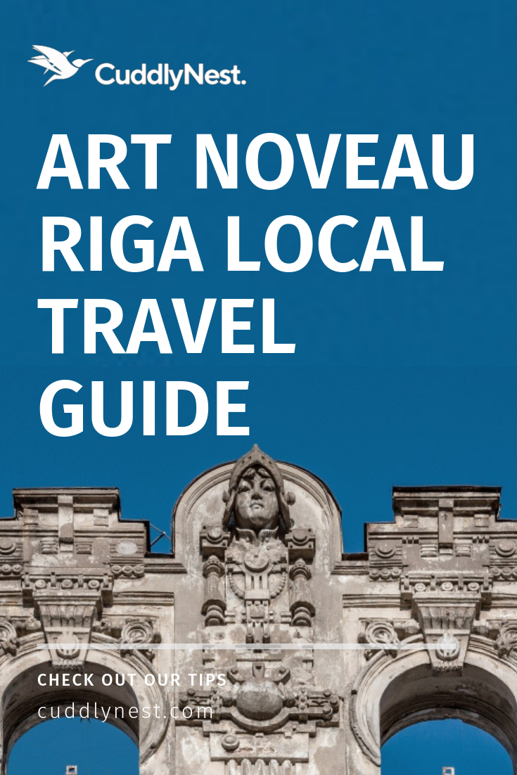 Art Noveau travel guide to riga Alberta Street Elizabetees Street Riga Latvia Baltics Best Art Noveau cities in Europe