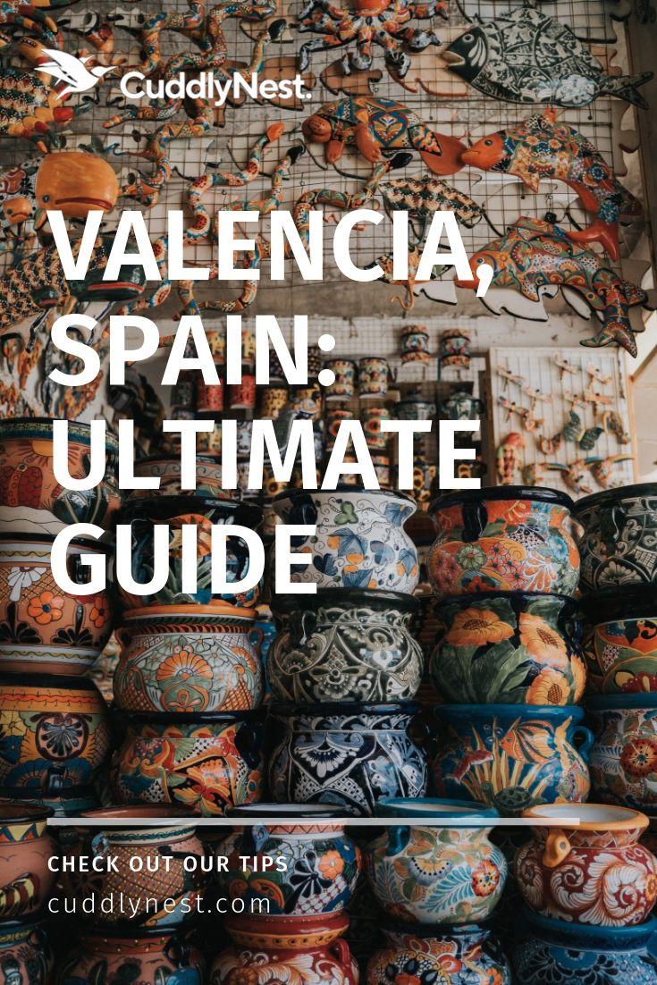 Cuddlynest travel Spain blog Pinterest pin