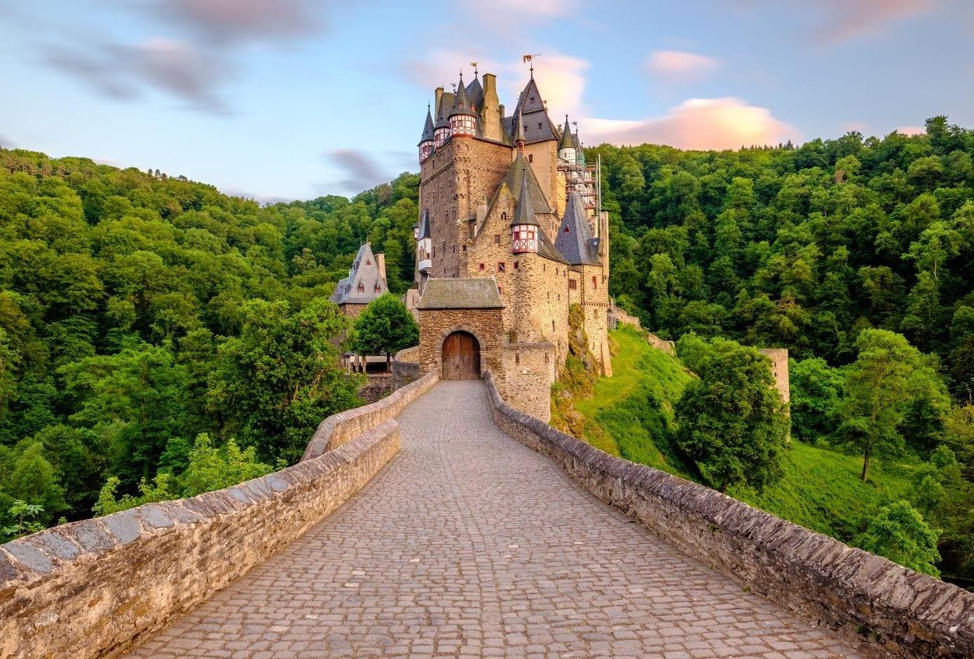 train travel in europe elz castle