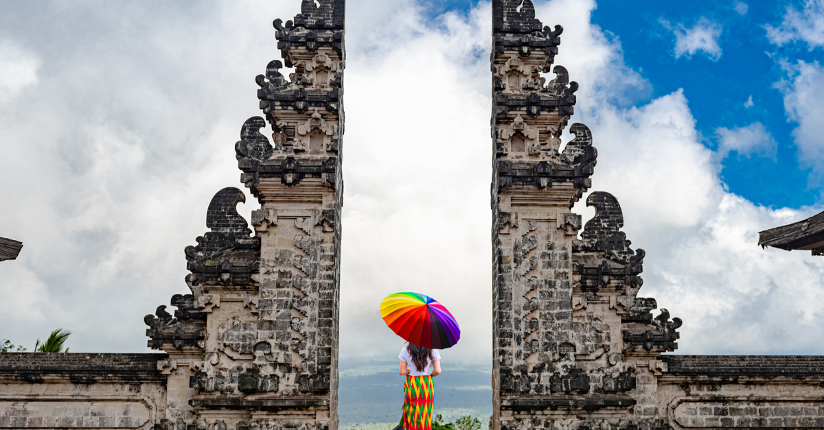 gates of heaven in bali
