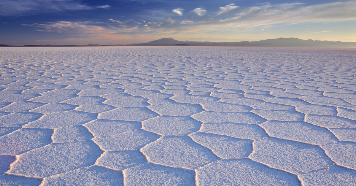salt lake in bolivia
