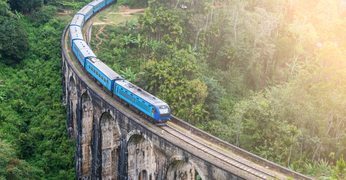 ecotourism train travel