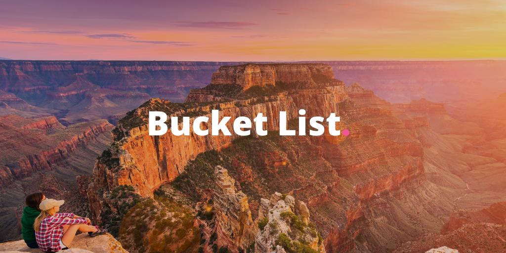 The Ultimate 2020 Bucket List Adventures