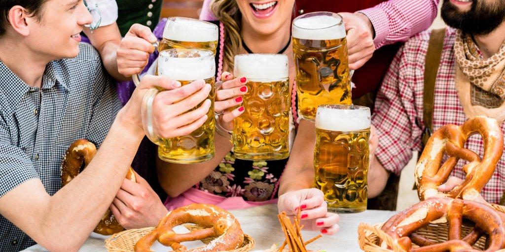 beer garden in Germany