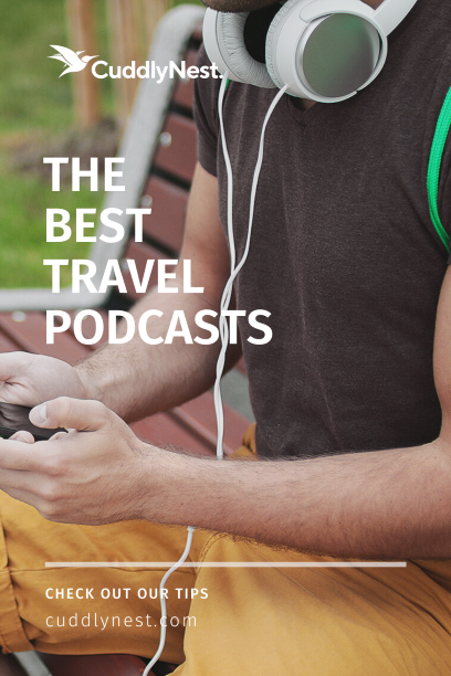 travel podcasts pin