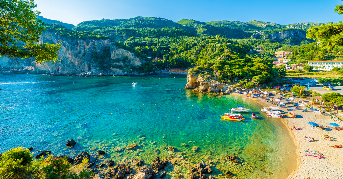 corfu greece beaches