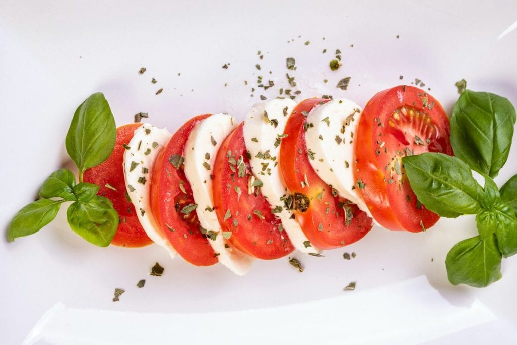 italian dishes caprese salad