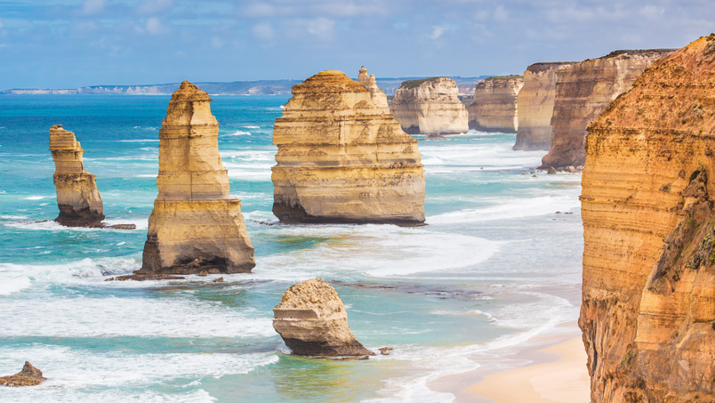 12 apostles beach in australia