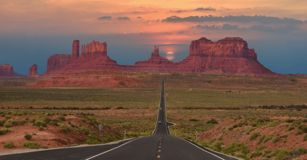 route 66 in the USA
