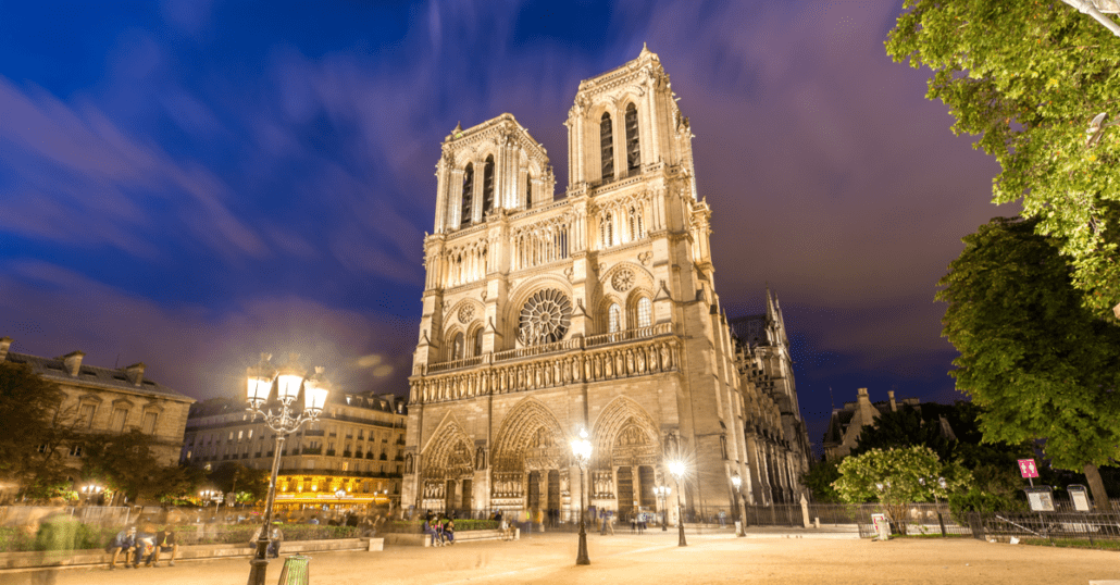 notre dame french sacred attractions