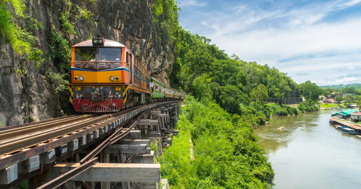 train travel in asia