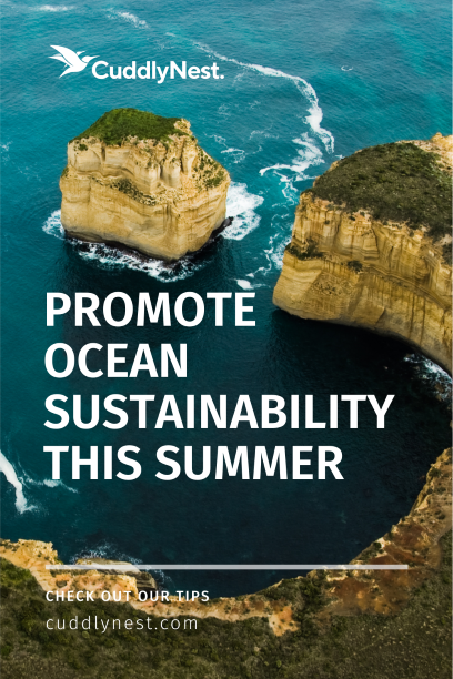 promote ocean sustainability pin