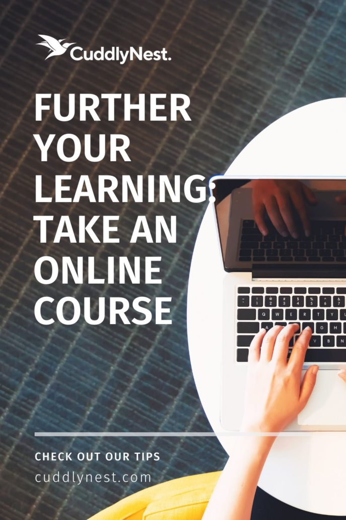 further your learning by taking an online course