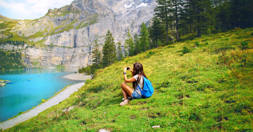 female travel in switzerland