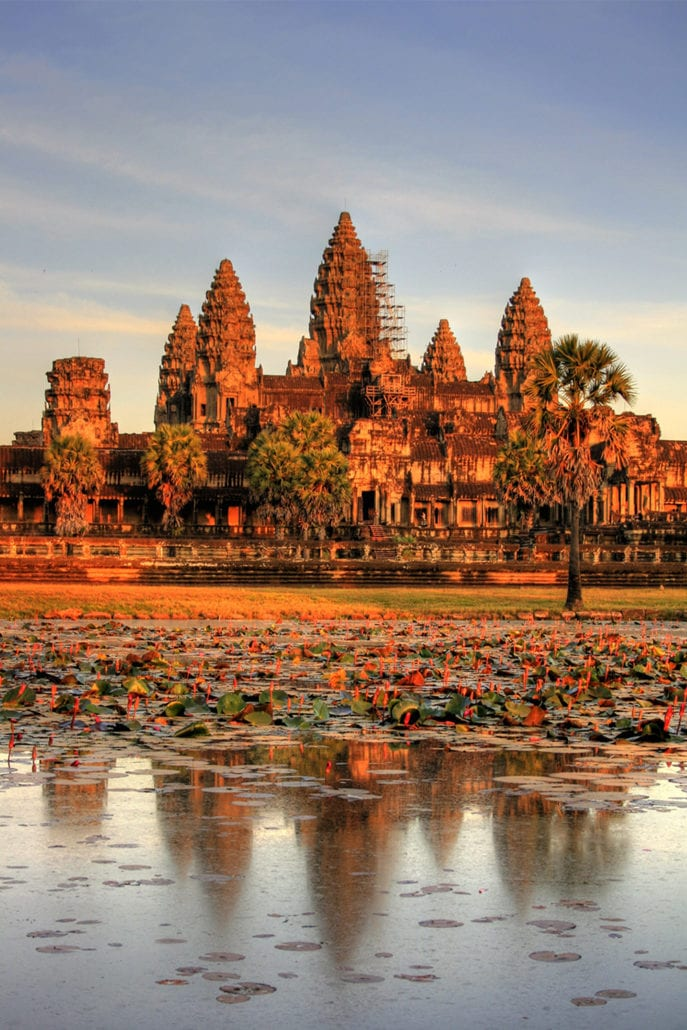 Angkor Wat the most beautiful architecture buildings in the world cuddlynest