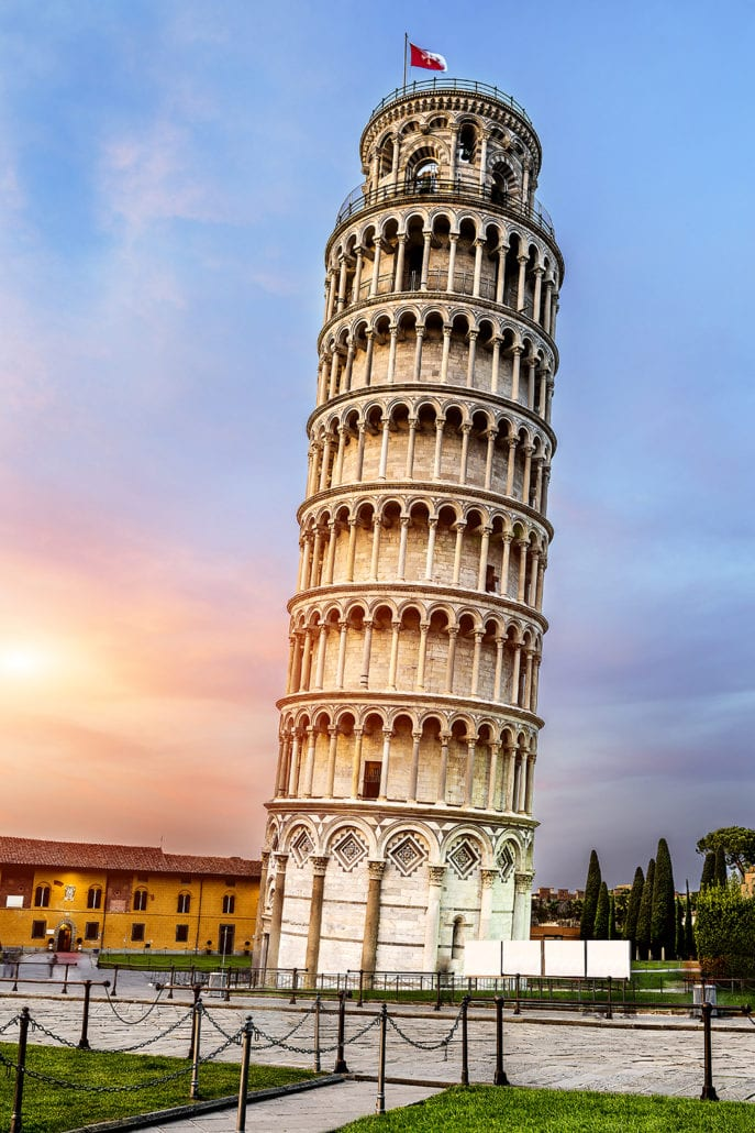 Leaning Tower of Pisa the most beautiful architecture buildings in the world cuddlynest