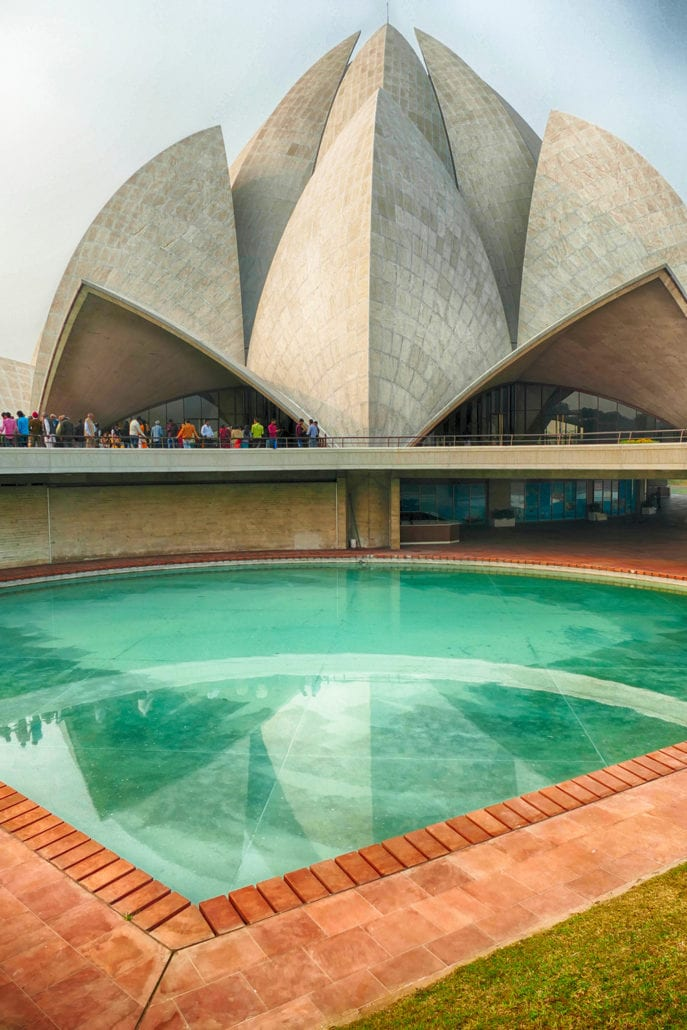 Lotus Temple the most beautiful architecture buildings in the world cuddlynest