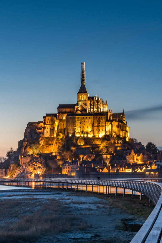 Mont Saint-Michel Castle the most beautiful architecture buildings in the world cuddlynest