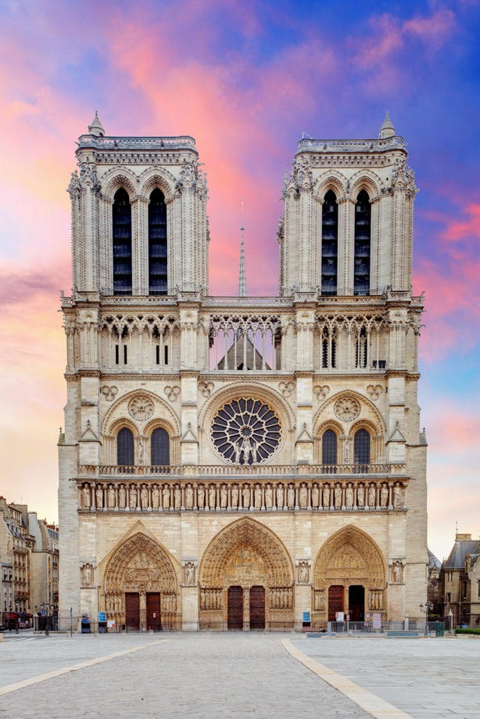 Notre Dame de Paris the most beautiful architecture buildings in the world cuddlynest