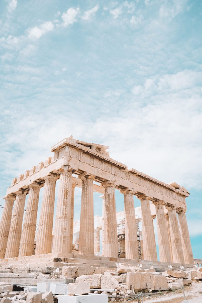 Parthenon the most beautiful architecture buildings in the world cuddlynest