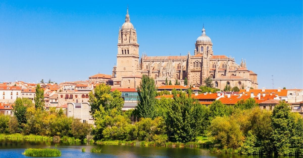 The city of Salamanca, Spain.