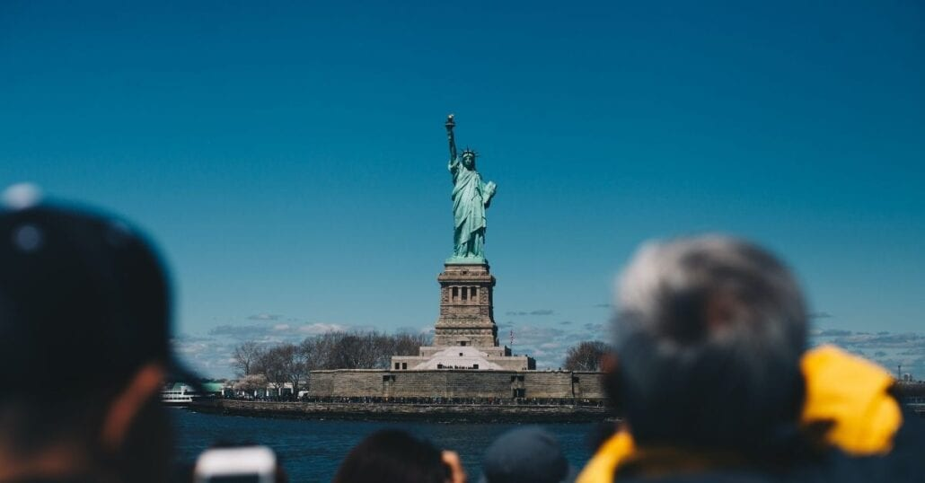 visit statue of liberty in NYC this week