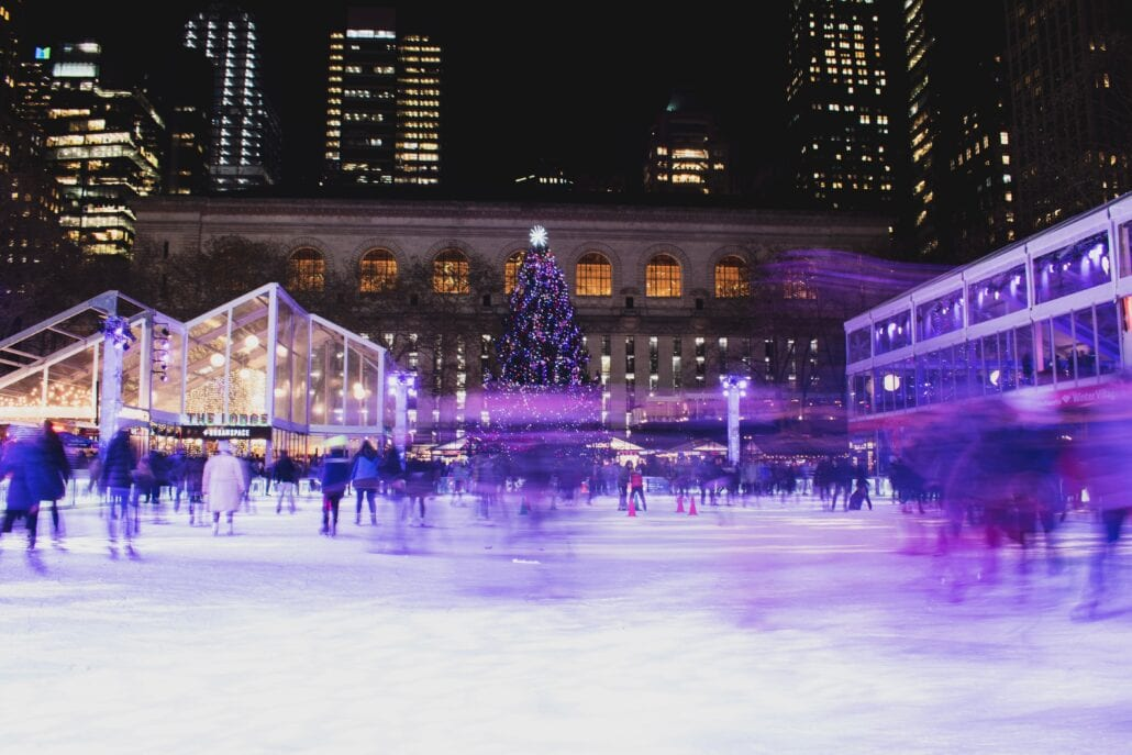 Winter Village at Bryant Park is one of the best things to do in NYC today