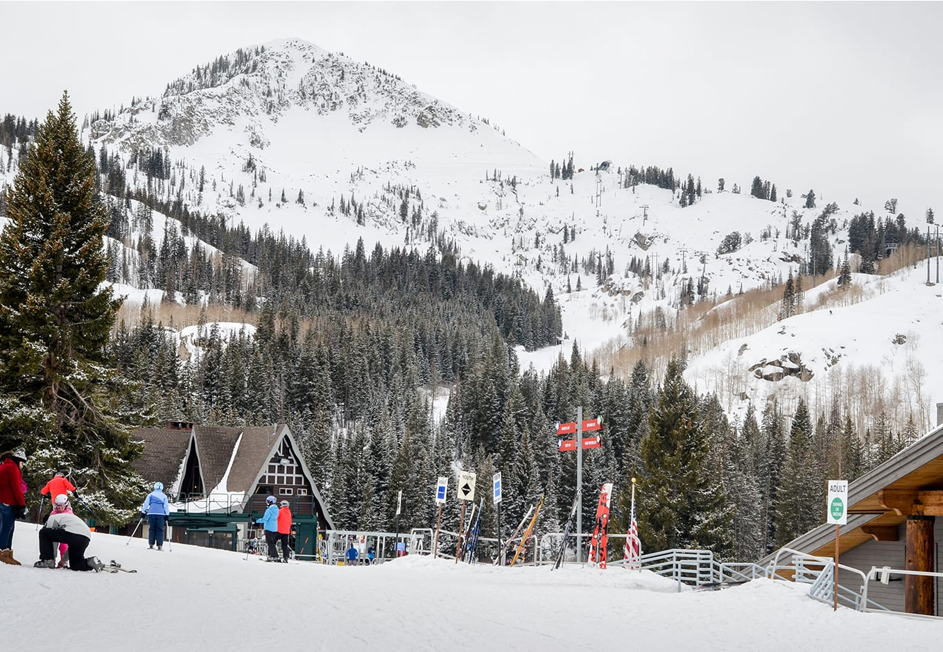 budget ski towns in us brighton